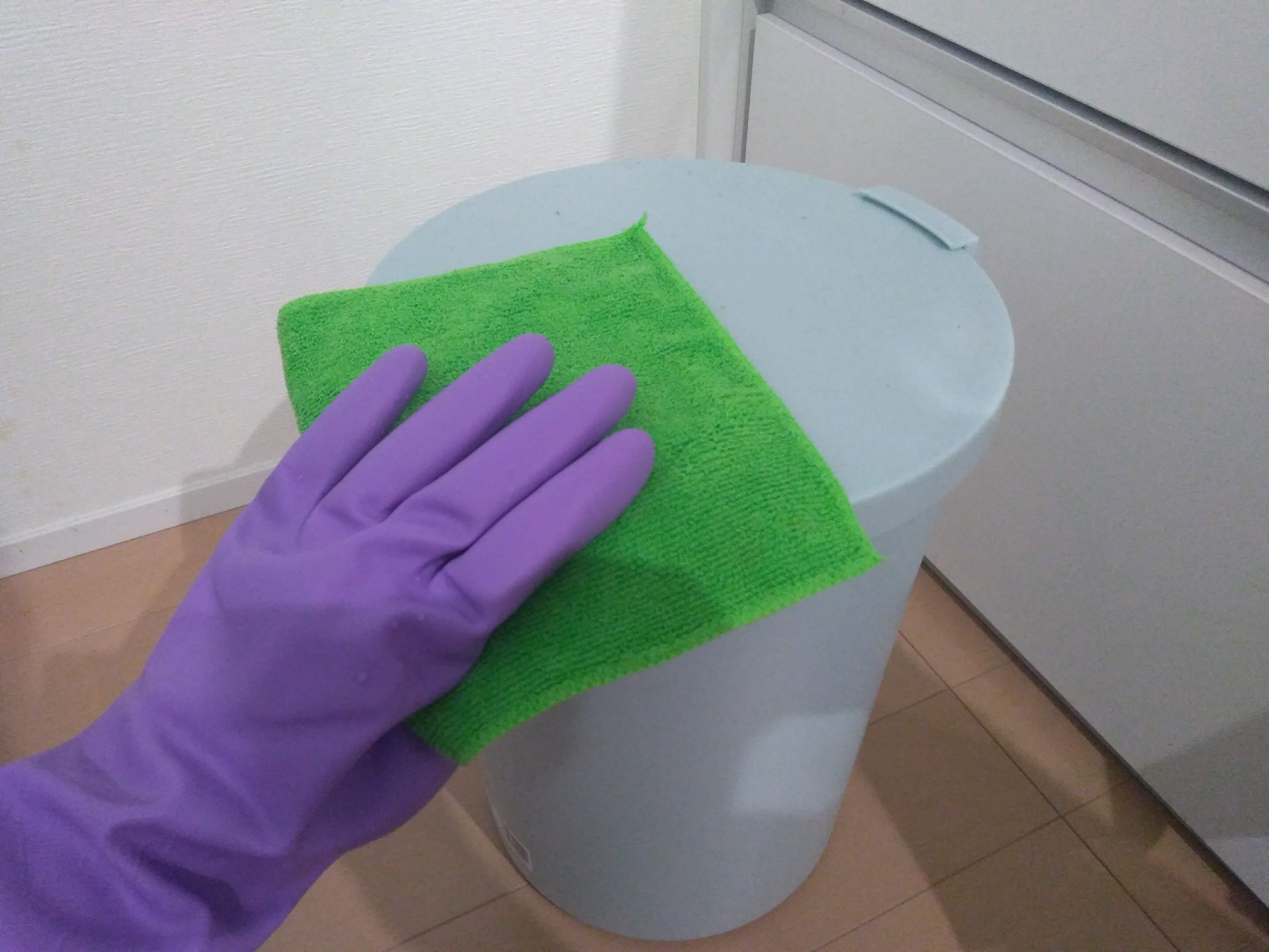 逆性石鹸布拭き